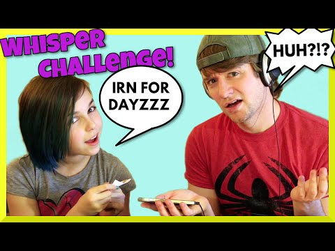Funny Whisper Challenge with Chad Alan - Lip Reading Comedy