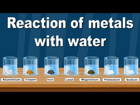 Reaction Of Metals With Water | Class 10 | Chemistry | ICSE Board | Home Revise