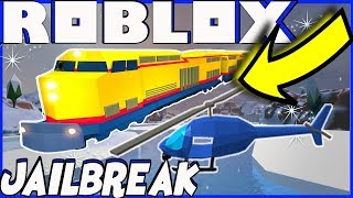 ROBLOX JAILBREAK | FLYING TRAIN GLITCH | NEW YEARS EVE | HAPPY NEW YEAR!