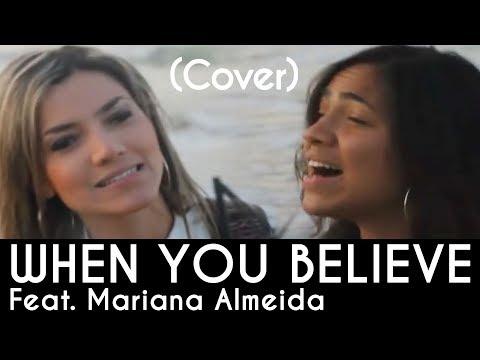 When you believe Cover - Milagres - Marine Friesen - Whitney Houston e Mariah Carey -