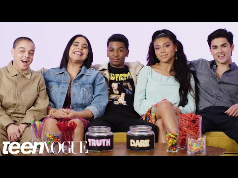 """On My Block"" Cast Plays &39;I Dare You&39;  Teen Vogue"