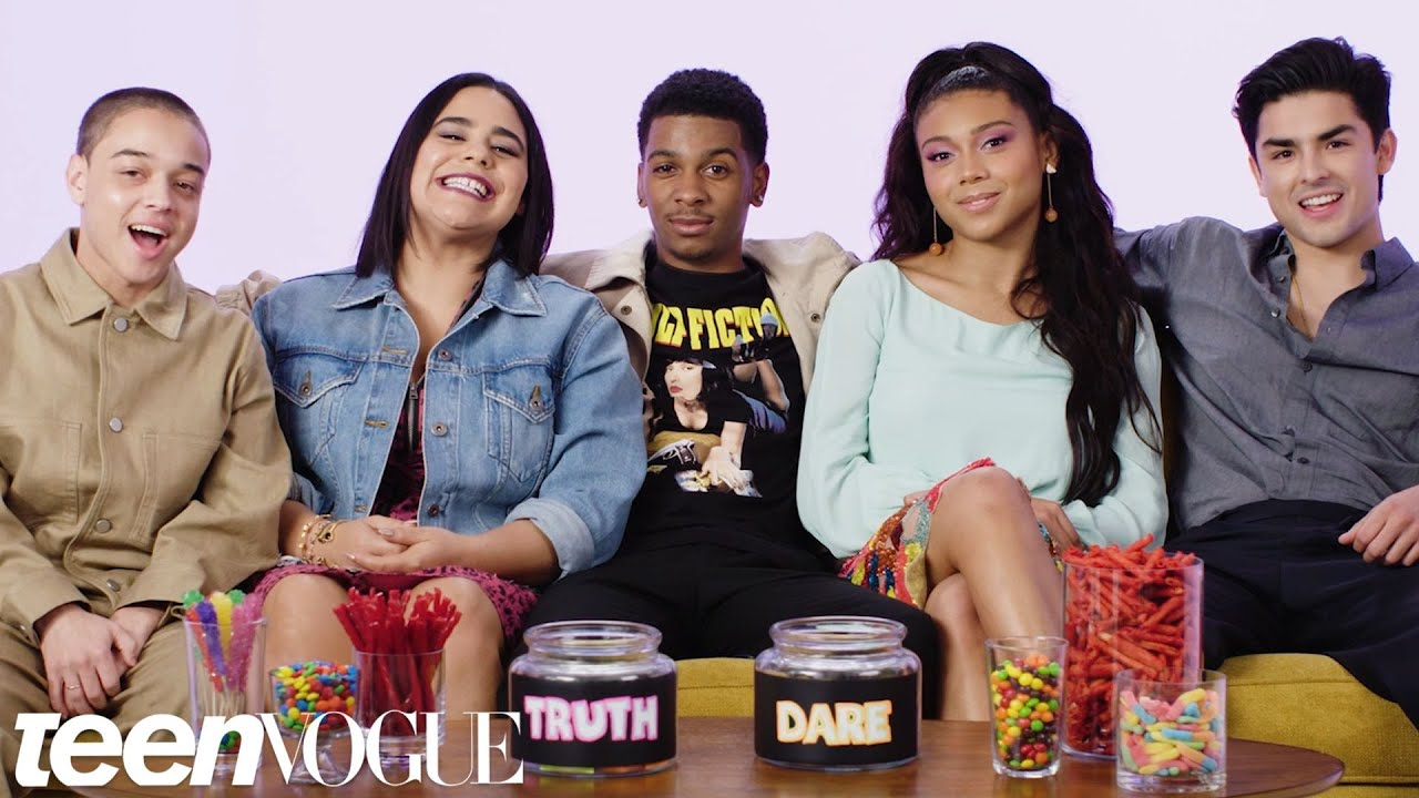 Not teens playing truth or dare tube think
