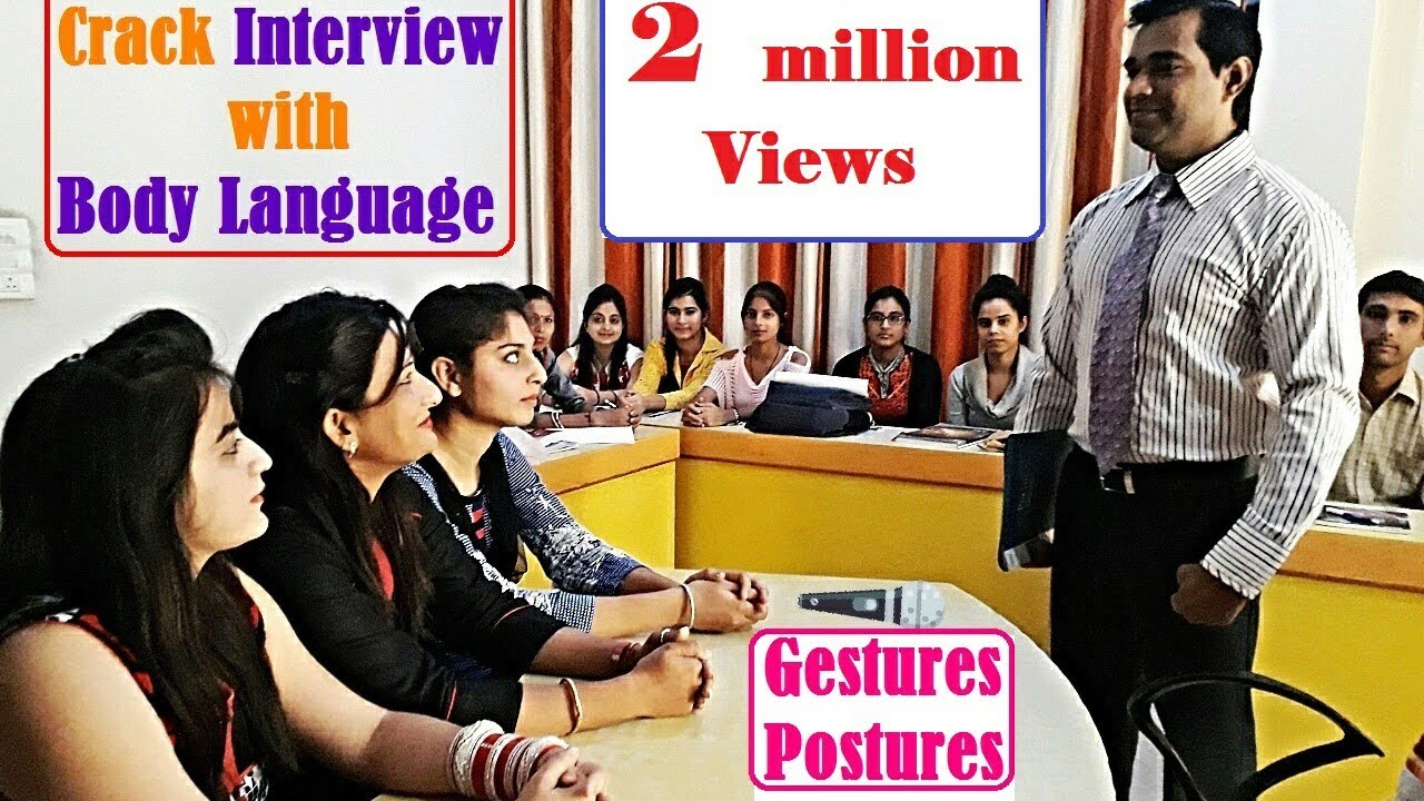 Amazing How To Crack INTERVIEW With BODY LANGUAGE * GESTURES U0026 POSTURES * Interview  Tips