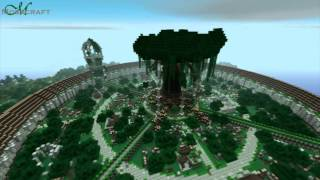 Minecraft Mosscraft: Ruins of the Elven City YouTube