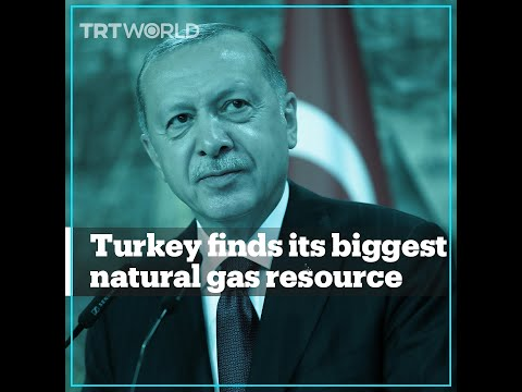 Turkey finds its biggest natural gas resource in the Black Sea