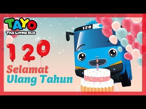 Selamat Ulang Tahun Lagu Anak l Tayo Selamat Ulang Tahun l Happy Birthday Bahasa Indonesia