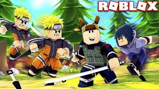 BECOMING STRONGEST NINJA! (ROBLOX NINJA SIMULATOR)