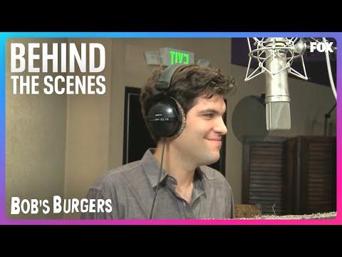 In The Recording Booth With Bob's Burgers | Season 3 | BOB'S BURGERS