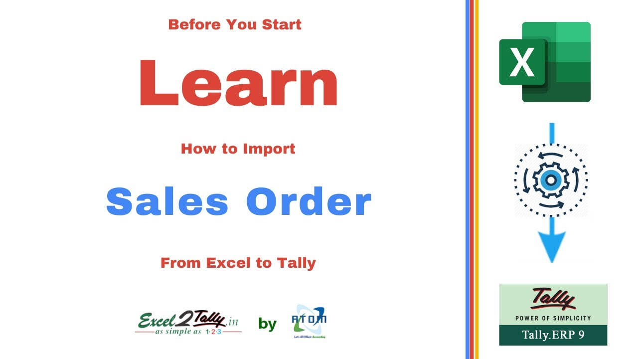 How do I Import Sales Orders from Excel to Tally | Knowledge Lab