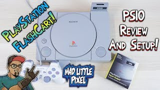 PlayStation Flashcart! The PSIO Review & Setup! PlayStation Classic For Real!
