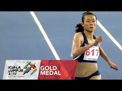 Athletics Women's 200m Final | 29th SEA Games 2017