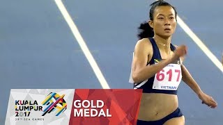 Athletics Women's 200m Final | 29th SEA Games 2017