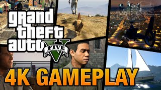 GTA 5 PC 4K Ultra Settings Gameplay
