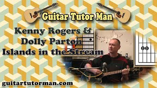 Islands In The Stream - Kenny Rogers & Dolly Parton - Acoustic Guitar Lesson
