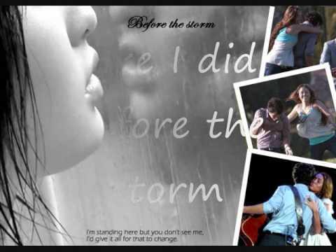 Before the Storm [Karaoke/instrumental] sing with Nick Jonas