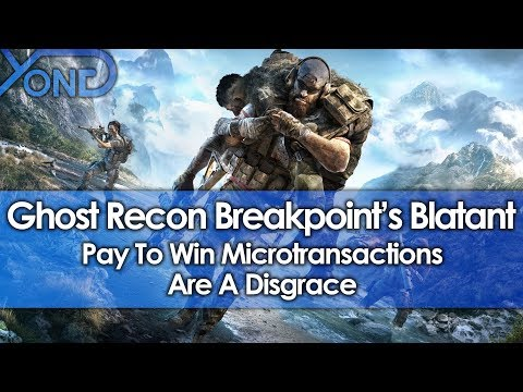 Ghost Recon Breakpoint's Pay To Win Microtransactions Are A Disgrace