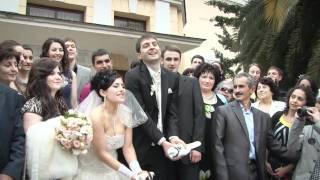 Демо-клип свадьбы в Сочи