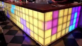 Эксклюзивная светодинамическая барная стойка для кафе «ЮНОСТЬ»(Компания НОРЕТЕК завершила работы по созданию эксклюзивной, светодинамической барной стойки, выполненной..., 2013-05-06T15:20:18.000Z)