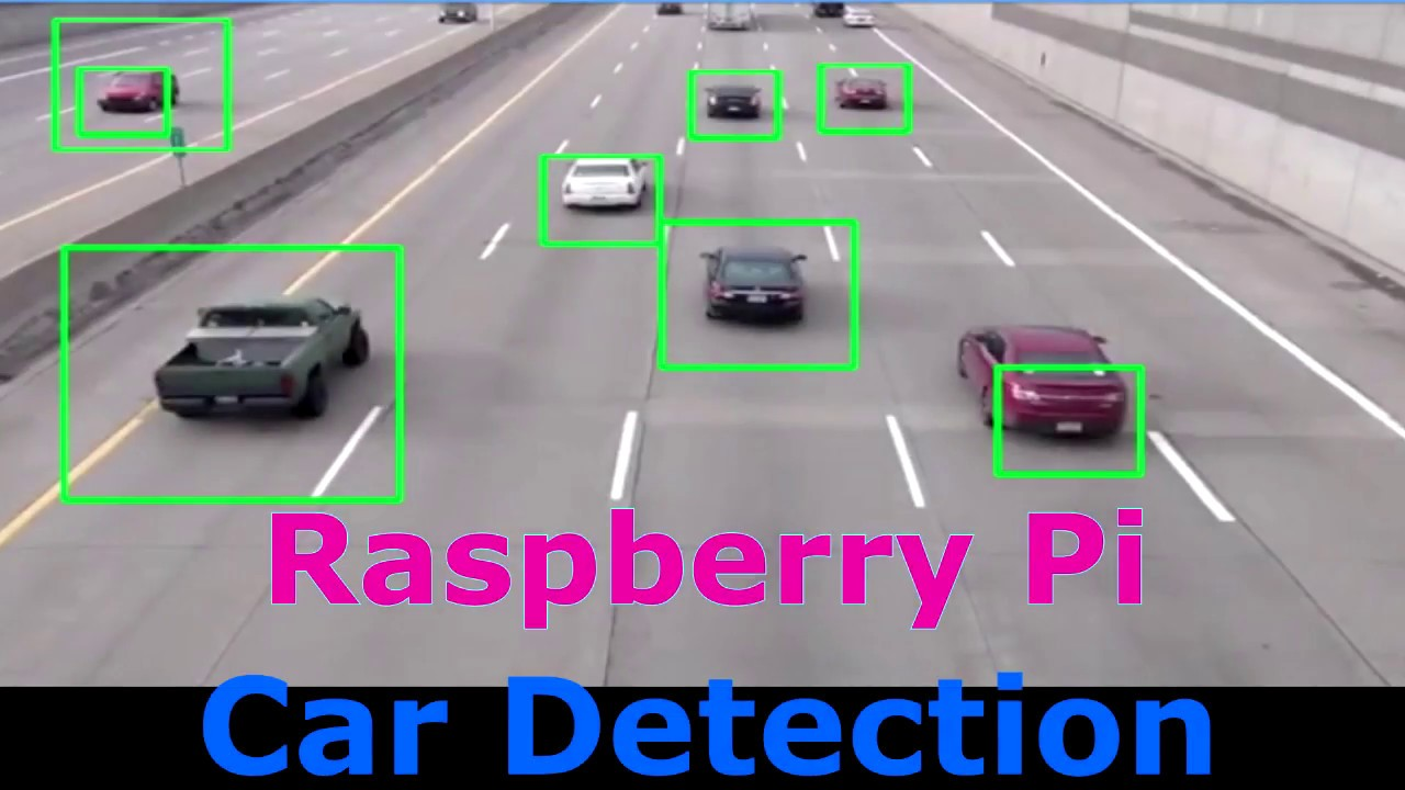 Raspberry pi Car Detection with OpenCV