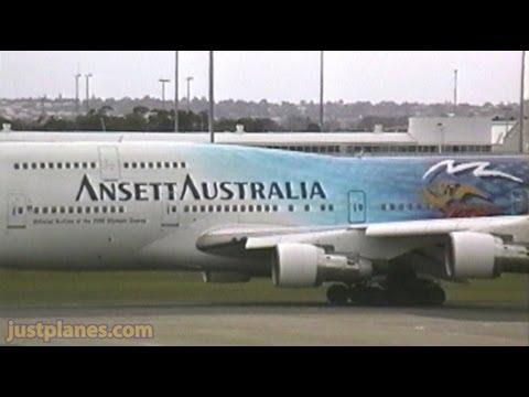 ANSETT AUSTRALIA At Sydney In The 90s