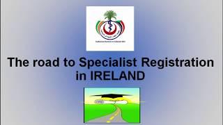SDI Road to Specialist Registration **TRAILER**