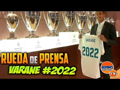 Acto de RENOVACION de VARANE 2022 Rueda de prensa (28/09/2017)