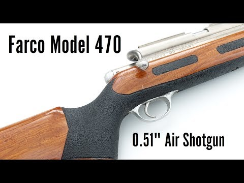 "Farco 0.51"" Air Shotgun from the Philippines"