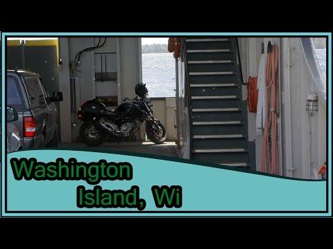 Motorcycle Camping Trip Washington Island, WI