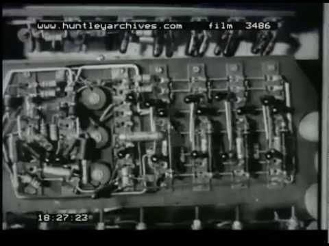 Transistor And Valve Technology, 1950s - Film 3486