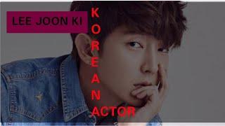 LEE JOON-GILEE JOON KI KOREAN ACTOR DRAMA SERIES AND MOVIES