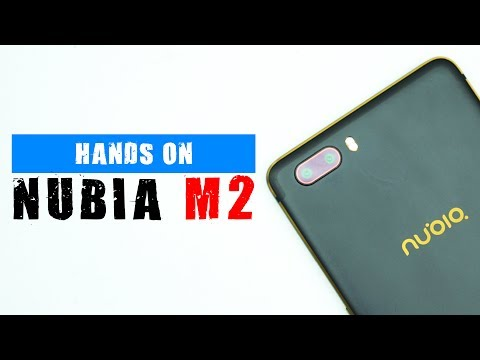 Hands On Nubia M2 : Kamera Dua, Desain Istimewa