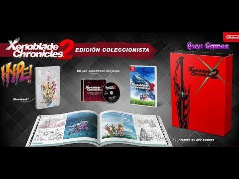 Unboxing Edición Especial Xenoblade Chronicles 2