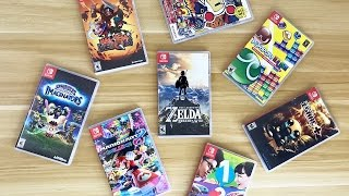My Nintendo Switch Collection: Spring 2017