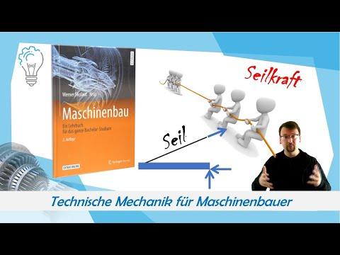 Technische Mechanik für Maschinenbau: Seilkraft