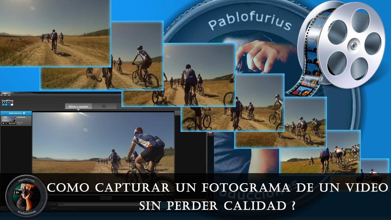 Como capturar un fotograma de un video de GoPro sin perder calidad ...