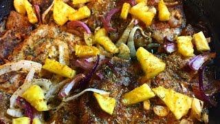 Easy Baked Pineapple Pork Chops