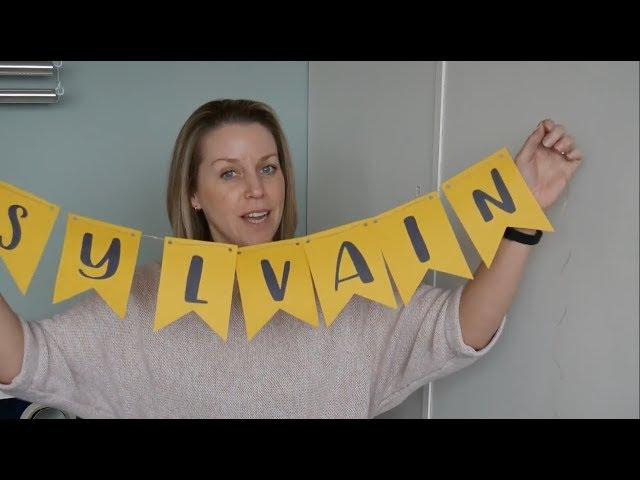 DIY - zelf een naamslinger maken