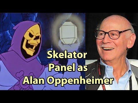 SkelEtor played by Alan Oppenheimer HeMan Phoenix Comicon  Fest