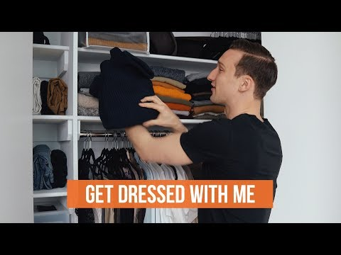 Get Dressed With Me | Men's Outfit For A Rainy Day | OneDapperStreet
