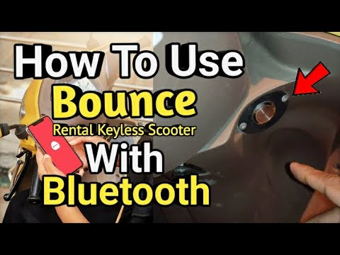 How To Activate Bounce Rental Keyless Scooters With Bluetooth | Bounce New Update With New Features
