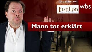 Frau erklärt Ehemann zu Unrecht für tot | Rechtsanwalt Christian Solmecke