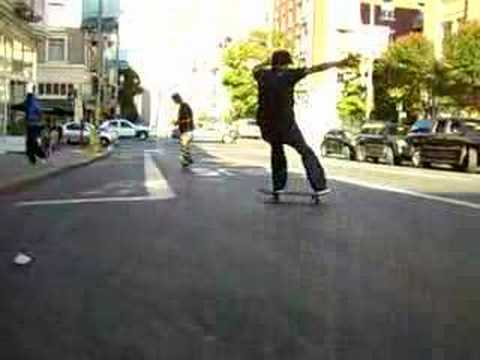 John Igei, Benny Gold and Keith Hufnagel powerslides