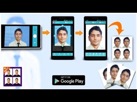 DIY Passport Photo - How to Make Passport Photo using Android App