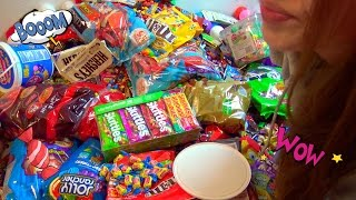 ASMR A lot of Candy
