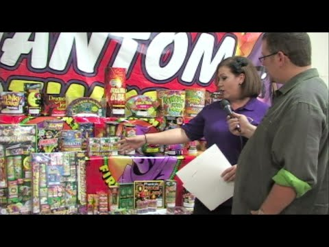 Phantom Fireworks 2016 - New Products & Selection - Legal Fireworks In California