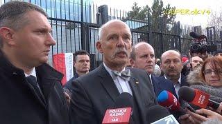 Janusz Korwin-Mikke: Wymówmy porozumienie o przyjęciu nielegalnych imigrantów