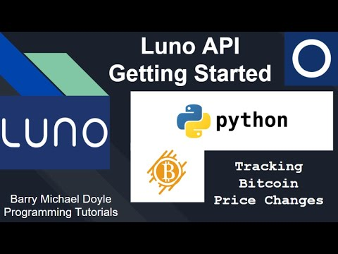 Building A Bitcoin Price Tracking Python Script Using The Luno API