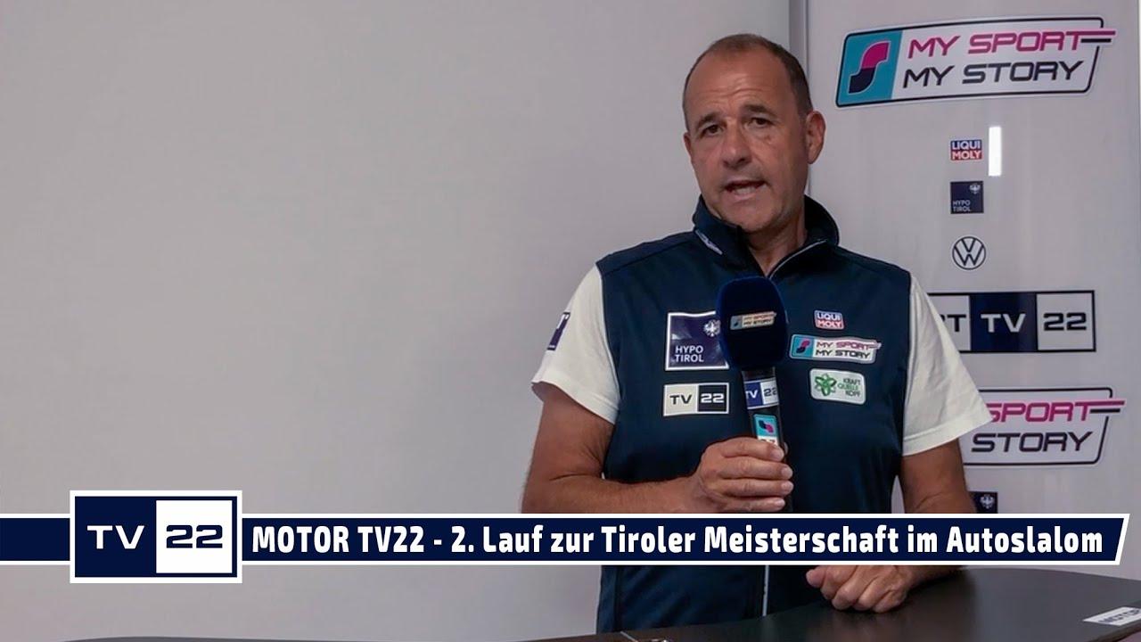MOTOR TV22: Ankündigung 2. Lauf zur Tiroler Meisterschaft im Autoslalom in Stans am 23.08.2020