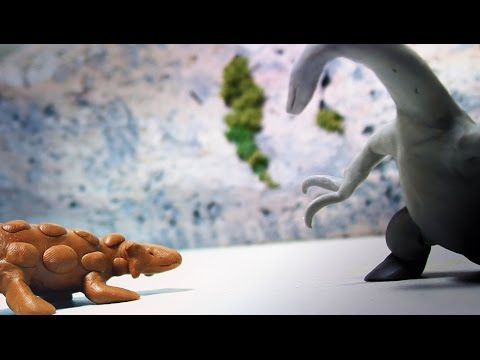 Therizinosaurus vs Ankylosaurus | Fredz Jurassic Warpath