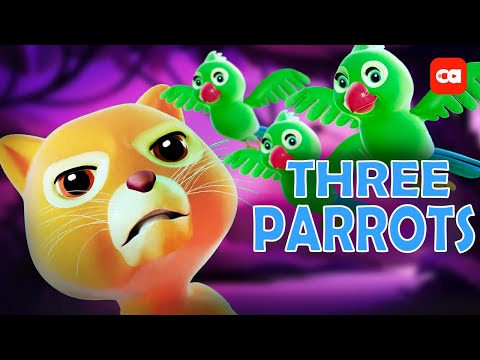 Download THREE LITTLE PARROT: SONG FOR KIDS